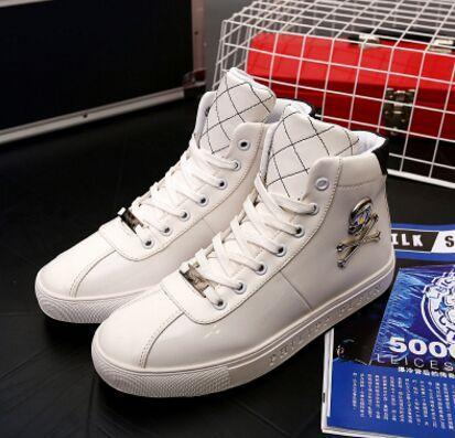 Sneakers Skull High-help Shoes