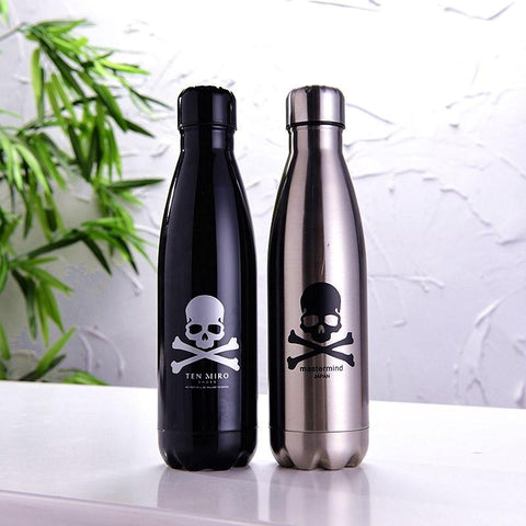 2pcs 500ml Skull Bowling Thermal Insulation Bottle - Badassnow