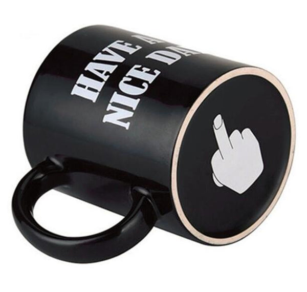 Middle Finger Funny Cup