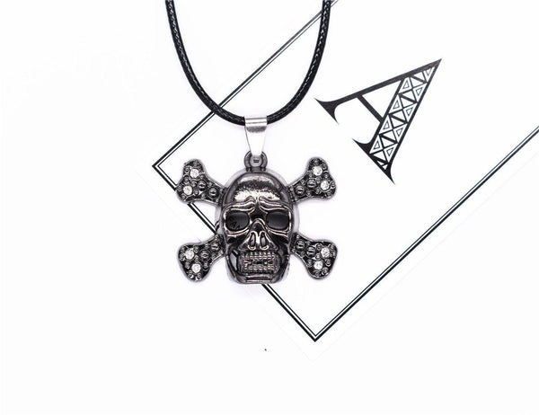 Skull Metal Necklace