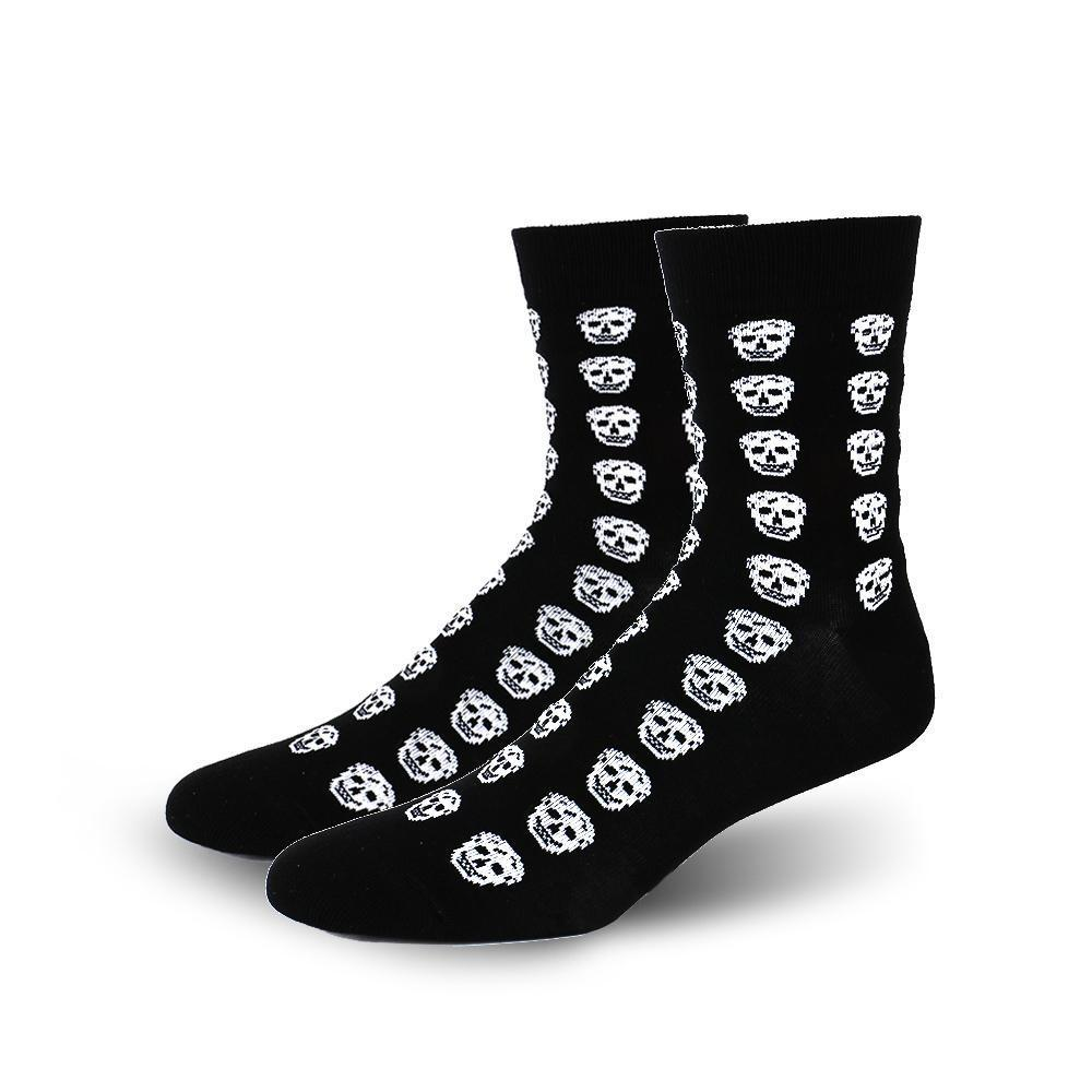 Skull Skeleton Bone Crazy Socks