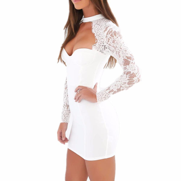 Sexy Women Lace Dress
