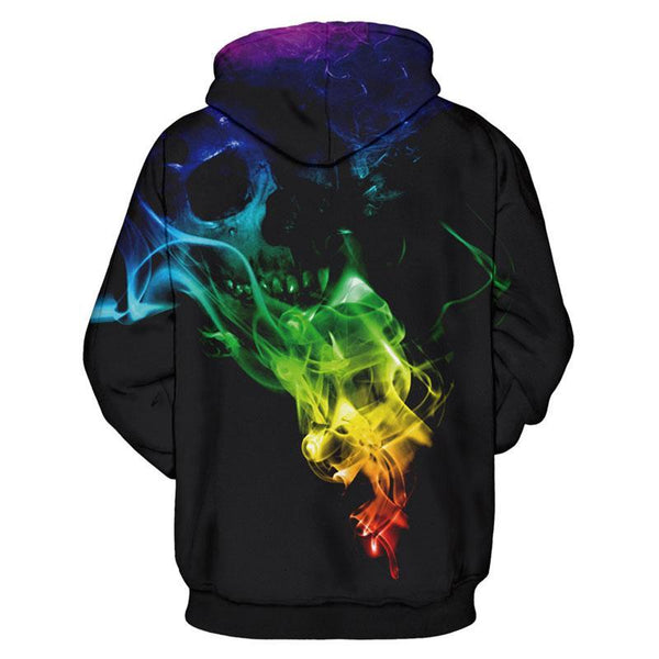 Colorful Smoke Skulls - Badassnow