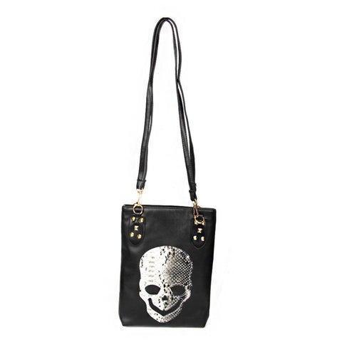 Punk Rivet Messenger Skull