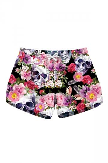 Skull Beach Shorties