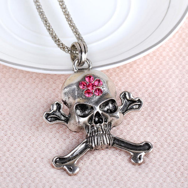 Skull Copper Pendant Necklace