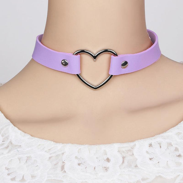 Heart Collar Choker