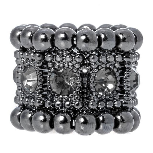 Stretch Band Ring Crystal