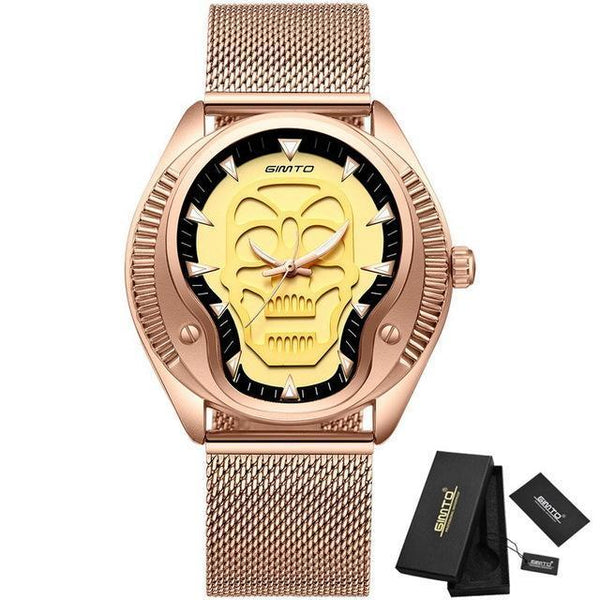 3D Skull Sports Watch - Badassnow