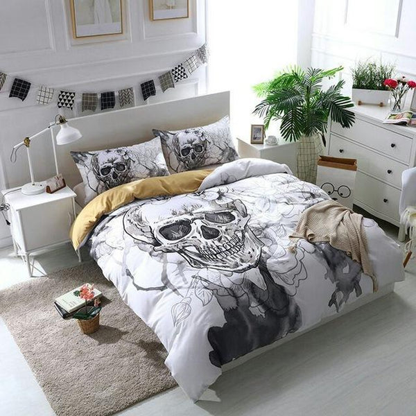 Skull Bedding Collection