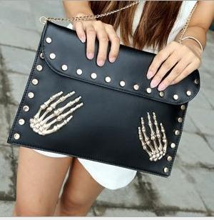 Skull Evening Clutch Bags