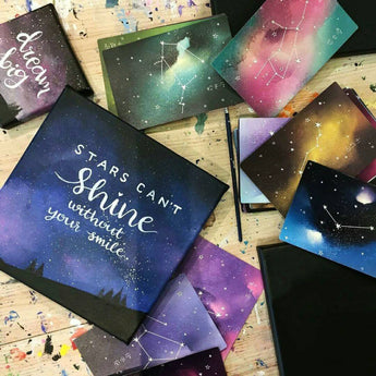 Night Sky + Quotes Workshop - artjamming, Boulevart - Boulevart