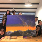 Family / Team Art Jam (Large Canvas)