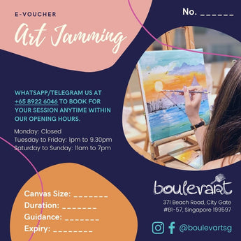 Art Jamming Gift Voucher