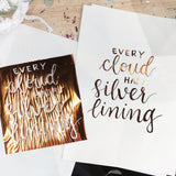 Basic Brush Lettering + Foil Workshop