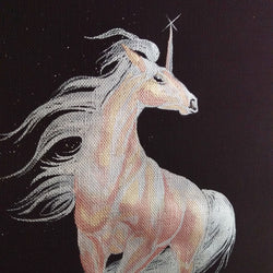 watercolour unicorn finetec singapore painting calligraphy