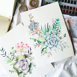 Succulents Watercolour Workshop - artjamming, Boulevart - Boulevart