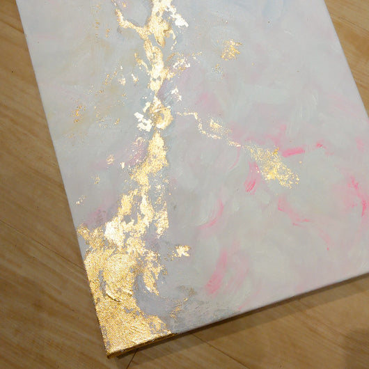 Gold Leaf Abstract Workshop - artjamming, Boulevart - Boulevart