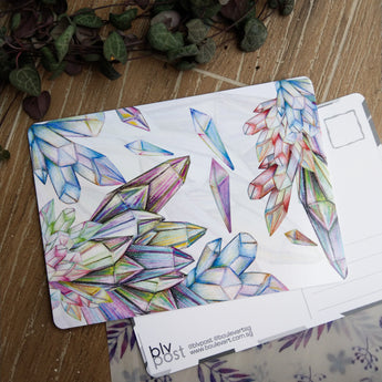 Imagine - Crystal Pencils Postcard - artjamming, Boulevart - Boulevart