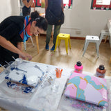 Fluid Art Workshop - artjamming, Boulevart - Boulevart