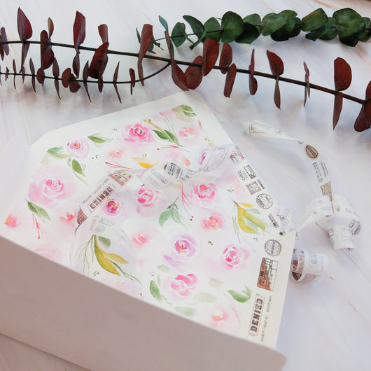DIY Floral Envelope Watercolour Workshop (NEW!) - artjamming, Boulevart - Boulevart