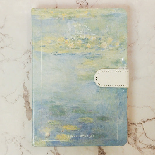 Claude Monet Notebook Series 1 - artjamming, Boulevart - Boulevart