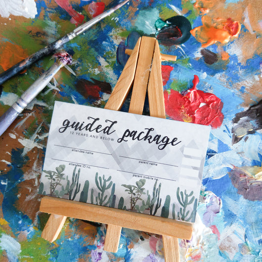 Guided Painting Class (Kids) - Package of 4 Sessions - artjamming, Boulevart - Boulevart