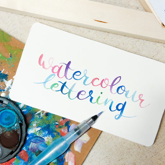 Watercolour Lettering Workshop - artjamming, Boulevart - Boulevart