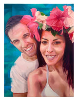Human & Pet Portrait Oil Painting (Customised - Couple) - artjamming, Boulevart - Boulevart