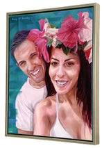 Custom Portrait Oil Painting