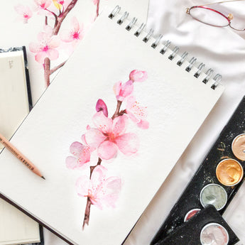 Cherry Blossoms Watercolour Workshop - artjamming, Boulevart - Boulevart