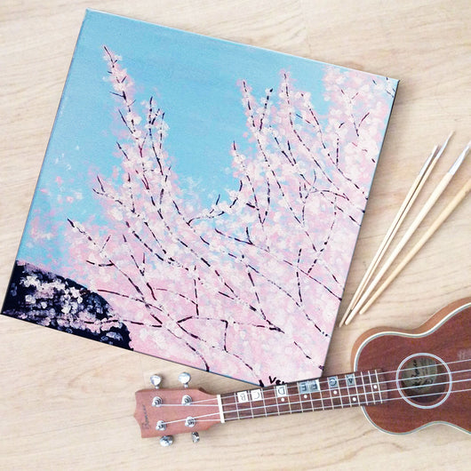Cherry Blossoms Workshop