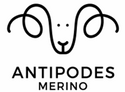 Antipodes Merino aires sheep logo