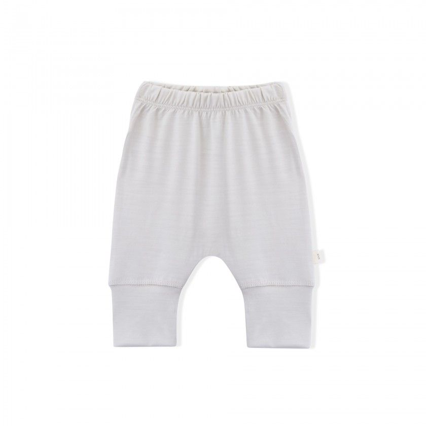 Essential Merino Baby Lounge Pants - Knot x Antipodes Merino (Natural)