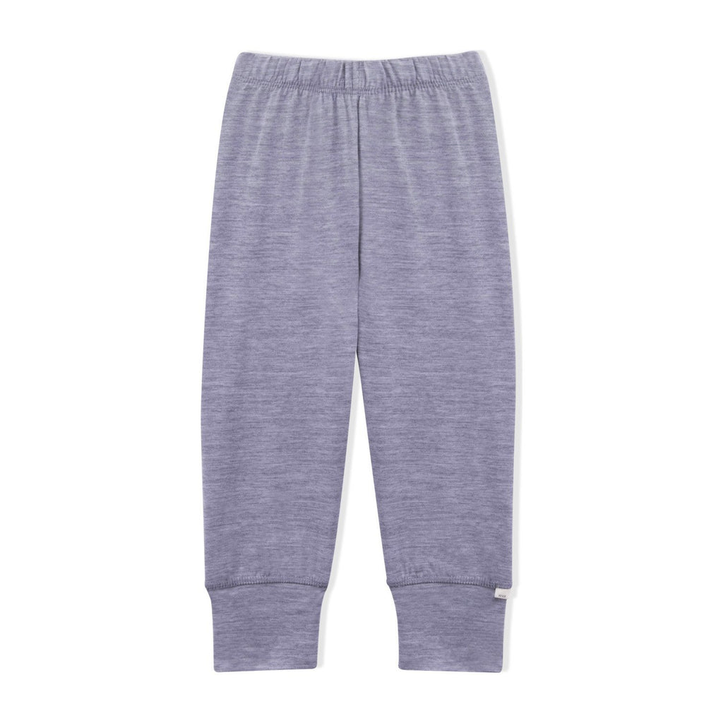 Essential Merino Lounge Pants - Knot x Antipodes Merino (Grey)