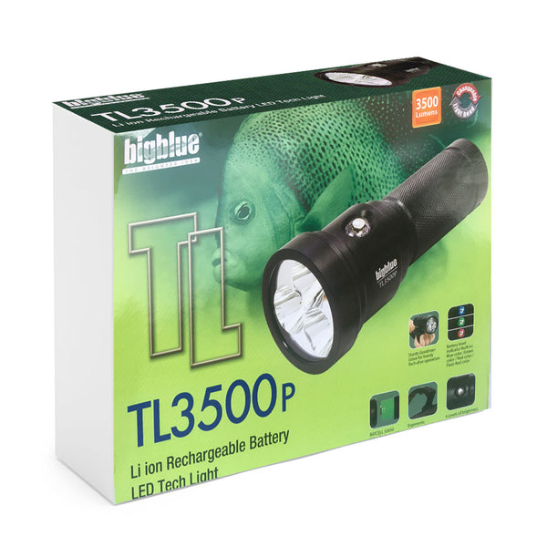 Duiklamp TL3500P 10° straal - 3500 lumen - D-Center