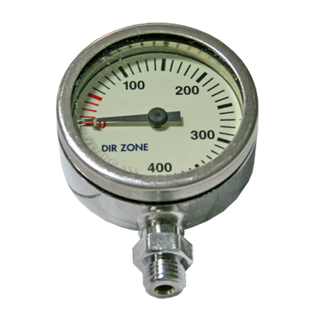 Manometer 52 mm 300 bar - D-Center