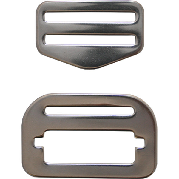 Aanpasbare belt buckle RVS