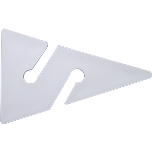 Cave Arrow white 65 mm (10 stuks) - D-Center