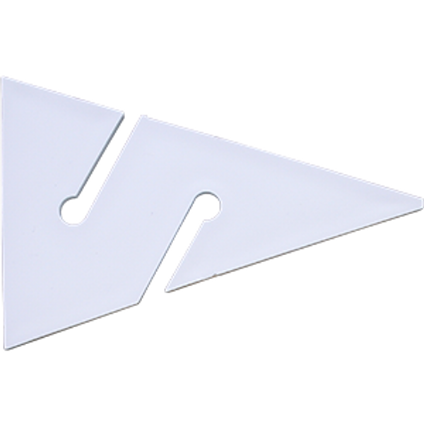 Cave Arrow wit 90 mm (10 stuks) - D-Center