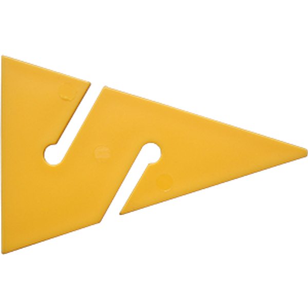 Cave Arrow geel 90 mm (10 stuks) - D-Center