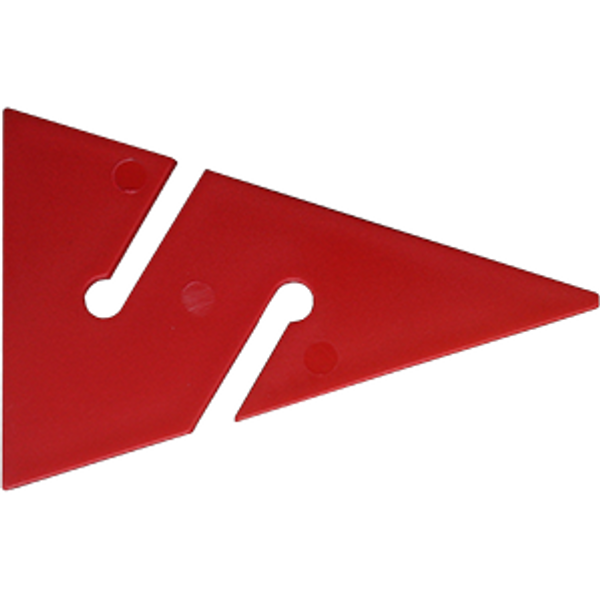 Cave Arrow rood 90 mm (10 stuks) - D-Center