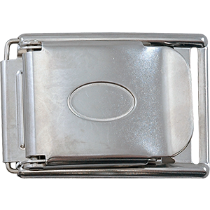 Spring-Loaded Buckle Stainless Steel - D-Center