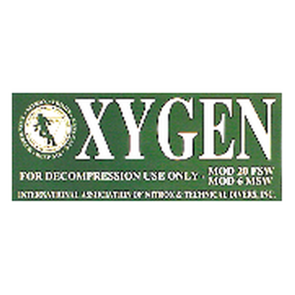 Oxygen sticker - D-Center