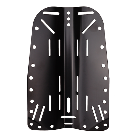 Backplate zwart - D-Center