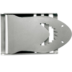 Belt Buckle Shark Stainless Steel 50mm - D-Center