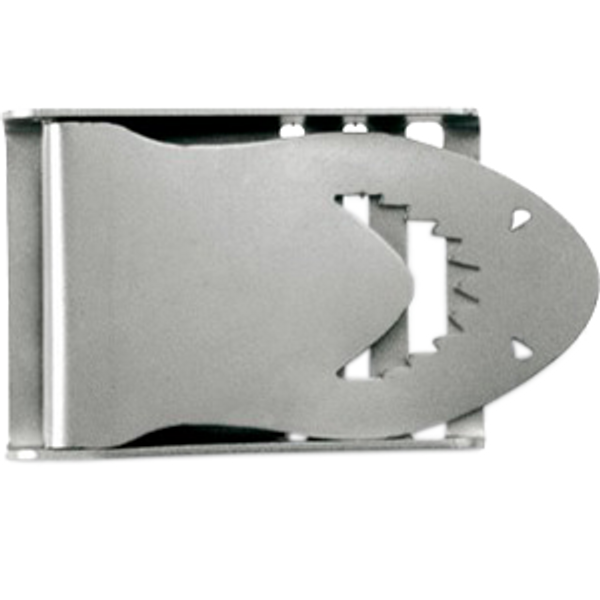 Belt Buckle Shark Stainless Steel 50mm