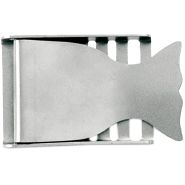 Belt Buckle Whale Stainless Steel 50mm - D-Center