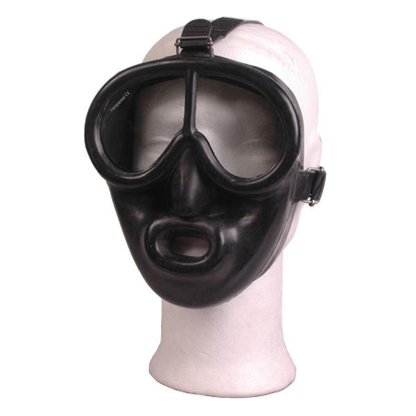 Rubber Full Face Dive Mask