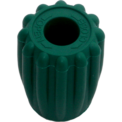 Thermo rubber knop groen - Easy Grip - D-Center